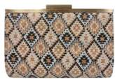 Sondra Roberts Printed Cork Convertible Clutch