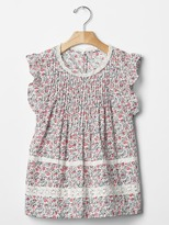 Gap Floral lace-trim top