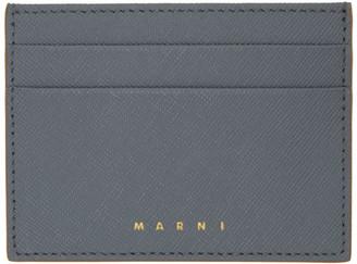 Marni Grey Credit Card Holder