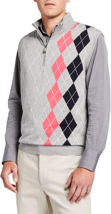 6256c5ee7 Cashmere Placed Argyle Sweater Vest