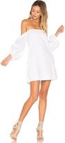 MLM Label Pillar Shoulder Dress