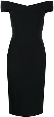 Le Petite Robe Di Chiara Boni Fitted Short-Sleeved Dress