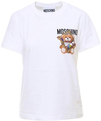 Moschino Teddy Frame Printed T-Shirt
