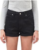 Dr. Denim Jenn High Rise Rigid Mom Shorts