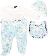 Roberto Cavalli star print pyjama - kids - Cotton/Spandex/Elastane - 3 mth