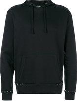 Valentino Rockstud hoodie - men - Cotton/Polyamide - M