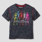 Power Rangers Boys' Activewear T-Shirt - Charcoal Heather