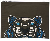 Kenzo Tiger clutch - men - Polyester - One Size