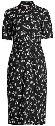 Kate Spade Nerissa Dandelion Floral Shirtdress