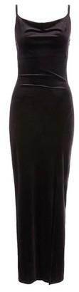 Dorothy Perkins Womens *Quiz Black Cowl Neck Maxi Dress, Black