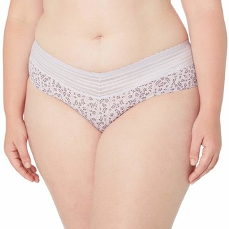 Warner's Warners Women's Plus Size No Pinching No Problems Hipster Panty with Lace