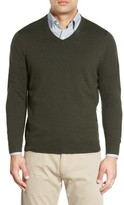 Nordstrom Men's Cotton & Cashmere V-Neck Sweater