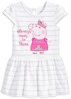 Nickelodeon Nickelodeon's Peppa Pig Ready To Shine Dress, Little Girls (4-6X)