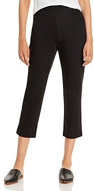 Eileen Fisher System Slim Cropped Pants
