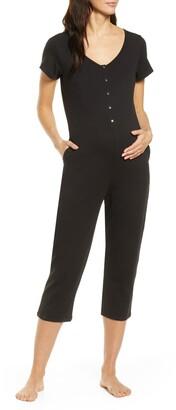 Belabumbum Short Sleeve Nursing/Maternity Romper