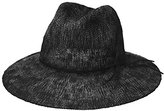 Collection XIIX Women's Two Tone Slubby Knit Packable Panama Hat