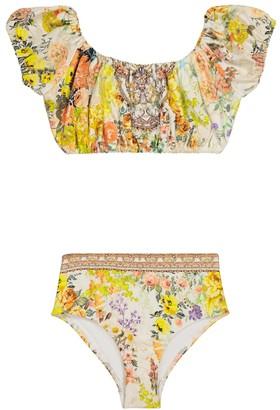 Camilla Kids Embellished floral bikini