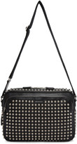 Alexander McQueen Black Studded Camera Bag