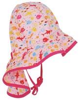 Sterntaler Pink Fish Sun Hat