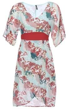 Smash Wear TELMA women's Long Dress in Red