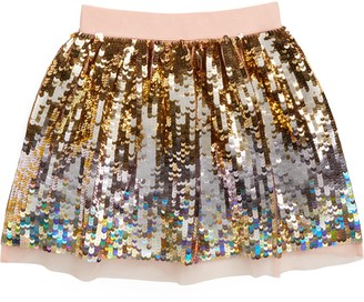 Boden Mini Sequin Skirt