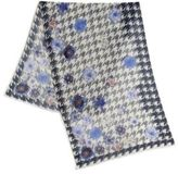 Roda Houndstooth Printed Scarf