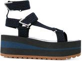 Versace strappy platform sandals