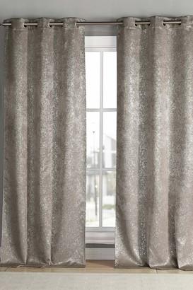 "Duck River Textile Maddie Blackout Grommet Curtains 84"" - Set of 2 - Mouse"