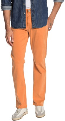 "34 Heritage Confidence Mid Rise Relaxed Straight Pants - 32-34"" Inseam"