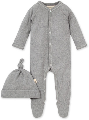 Burt's Bees Thermal Footed Organic Baby Snap Front Jumpsuit