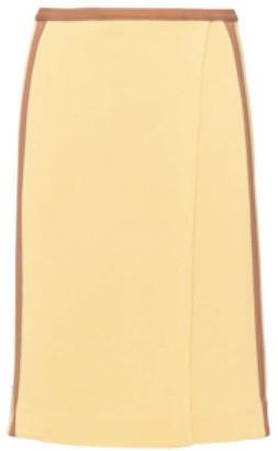 Miu Miu Knit Wrap Skirt