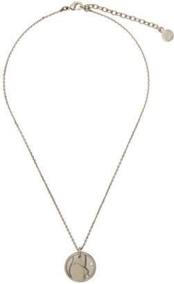 Ludovic de Saint Sernin Silver Top Medallion Necklace