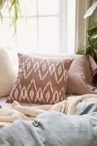 Urban Outfitters Alyssa Mauve Ikat Pillow