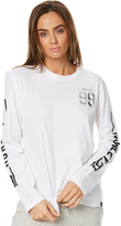 Hurley Tour Long Sleeve T Shirt White