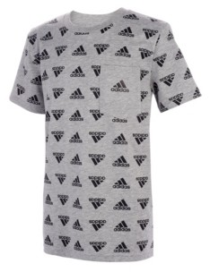 adidas Big Boys Brand Love Print T-shirt