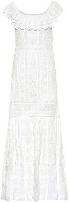 LoveShackFancy Niko cotton maxi dress