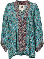 Figue Tokiko kimono tunic - women - Silk - XS/S