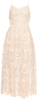 Maria Lucia Hohan Indonesia guipure-lace midi dress