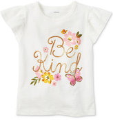 Carter's Be Kind Graphic-Print Cotton T-Shirt, Little Girls (2-6X) and Big Girls (7-16)