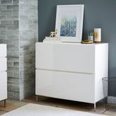 west elm Lacquer Storage Modular Lateral File