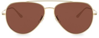 Oliver Peoples The Row Casse 58MM Aviator Sunglasses