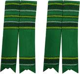 SHYNE_ENTERPRISES Scottish Kilt Sock Flashes various Tartans/Highland Kilt Hose Flashes pointed
