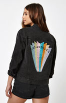 PacSun Los Angeles Embroidered Denim Jacket