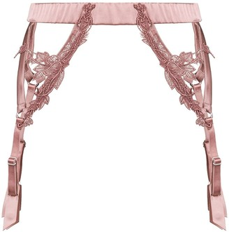 Fleur of England Desert Rose suspender belt