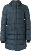 Herno hooded padded coat - men - Cotton/Feather Down/Polyamide - 48