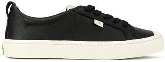 Cariuma OCA Low Black Premium Leather Sneaker