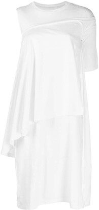 MM6 MAISON MARGIELA layered T-shirt dress