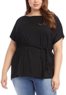 Karen Kane Plus Size Grecian Tunic Top