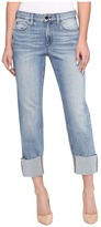 Joe's Jeans Smith Mid-Rise Straight Crop in Perez Women's Jeans