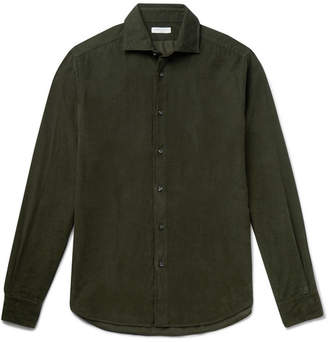 Boglioli Slim-Fit Cotton-Corduroy Shirt